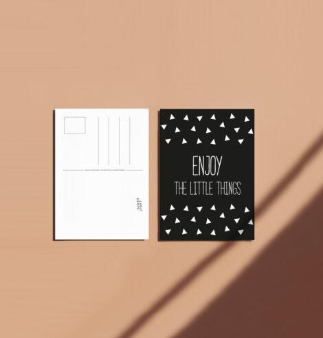 carte postale Enjoy déco