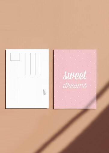 Carte postale Sweet dreams