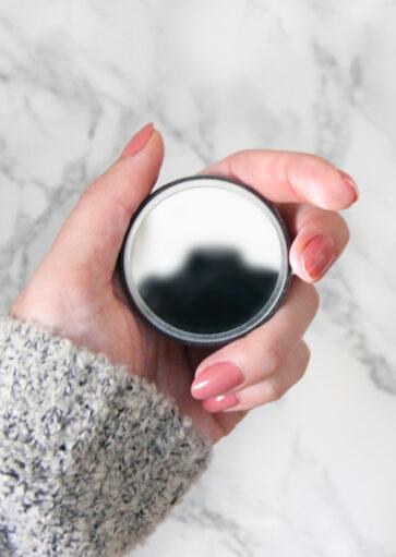 Miroir de poche illustré «Je suis une édition limitée» – 75 mm