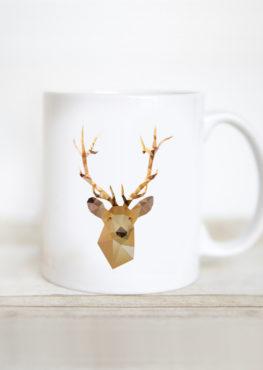 Mug Geometric Cerf