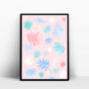 botanic pastel affiche decoration interieur mint