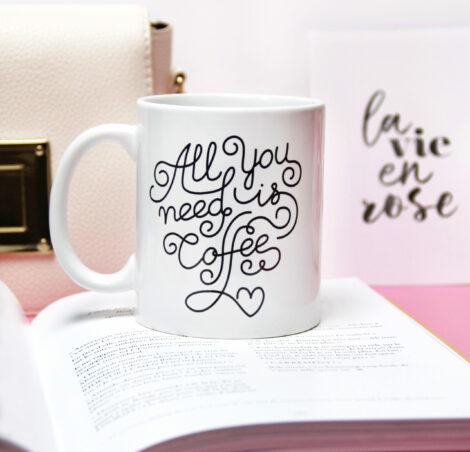 Mug All you need is coffee