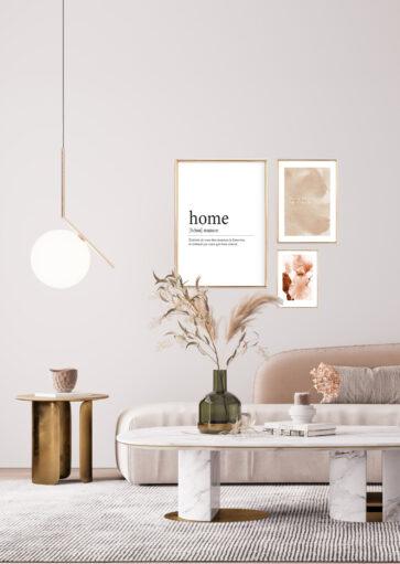 Affiche Home