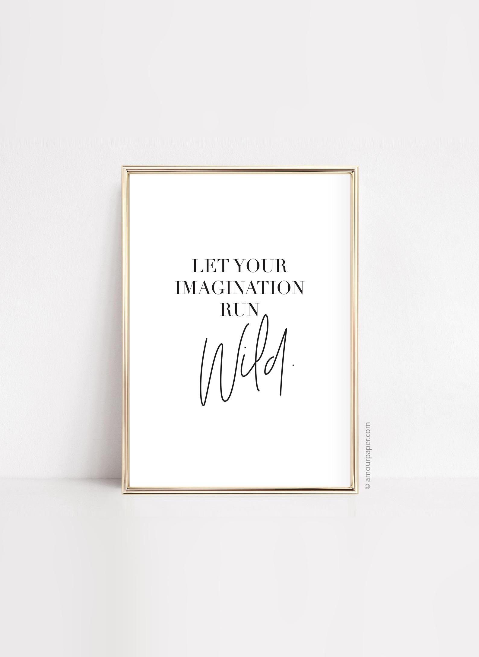 affiche typo message decoration