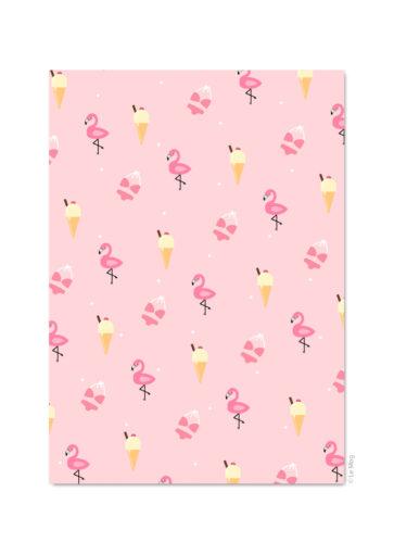 Carte postale Pink summer vibes