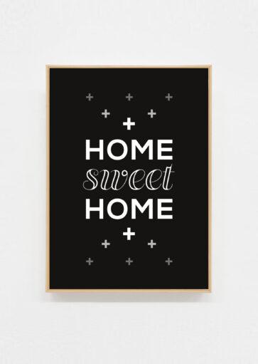 Carte postale Home sweet home