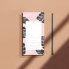 bloc notes palmiers tropical