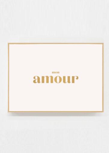 Carte postale mon Amour
