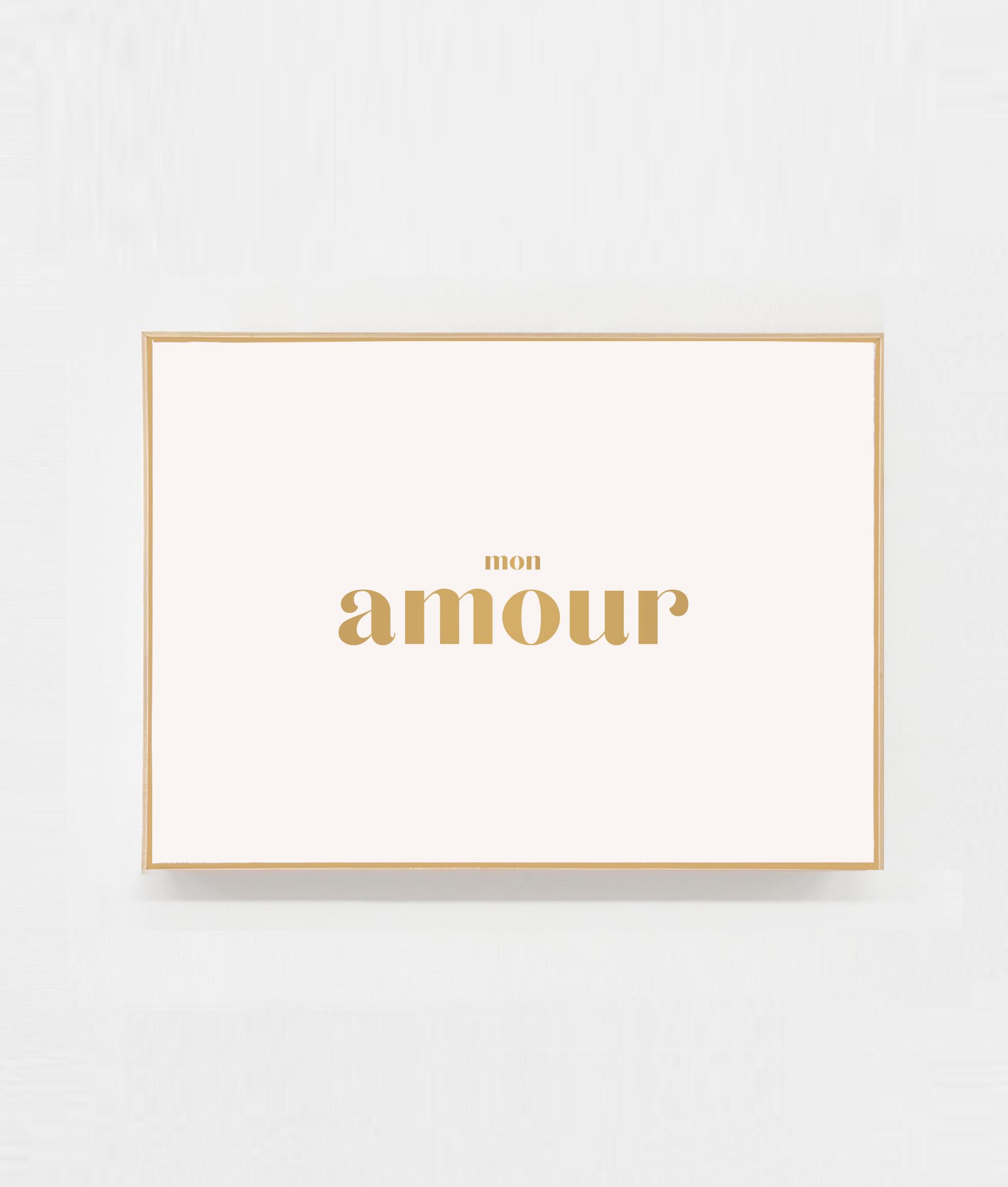Carte a message mon amour