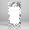 bloc notes palmiers jungle