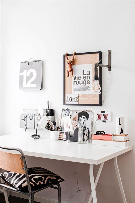 bureau deco femme entrepreneuse