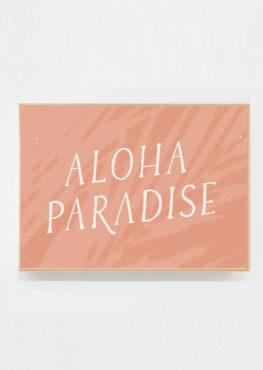 Carte postale Aloha Paradise