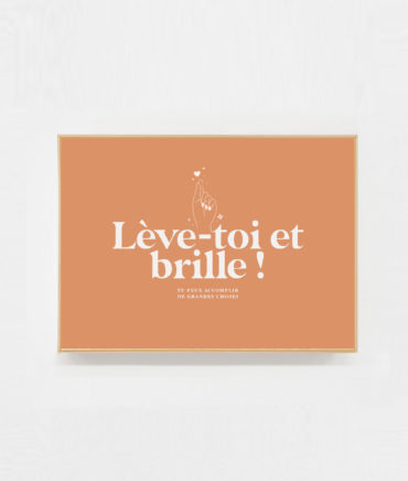 Carte postale ambition motivation