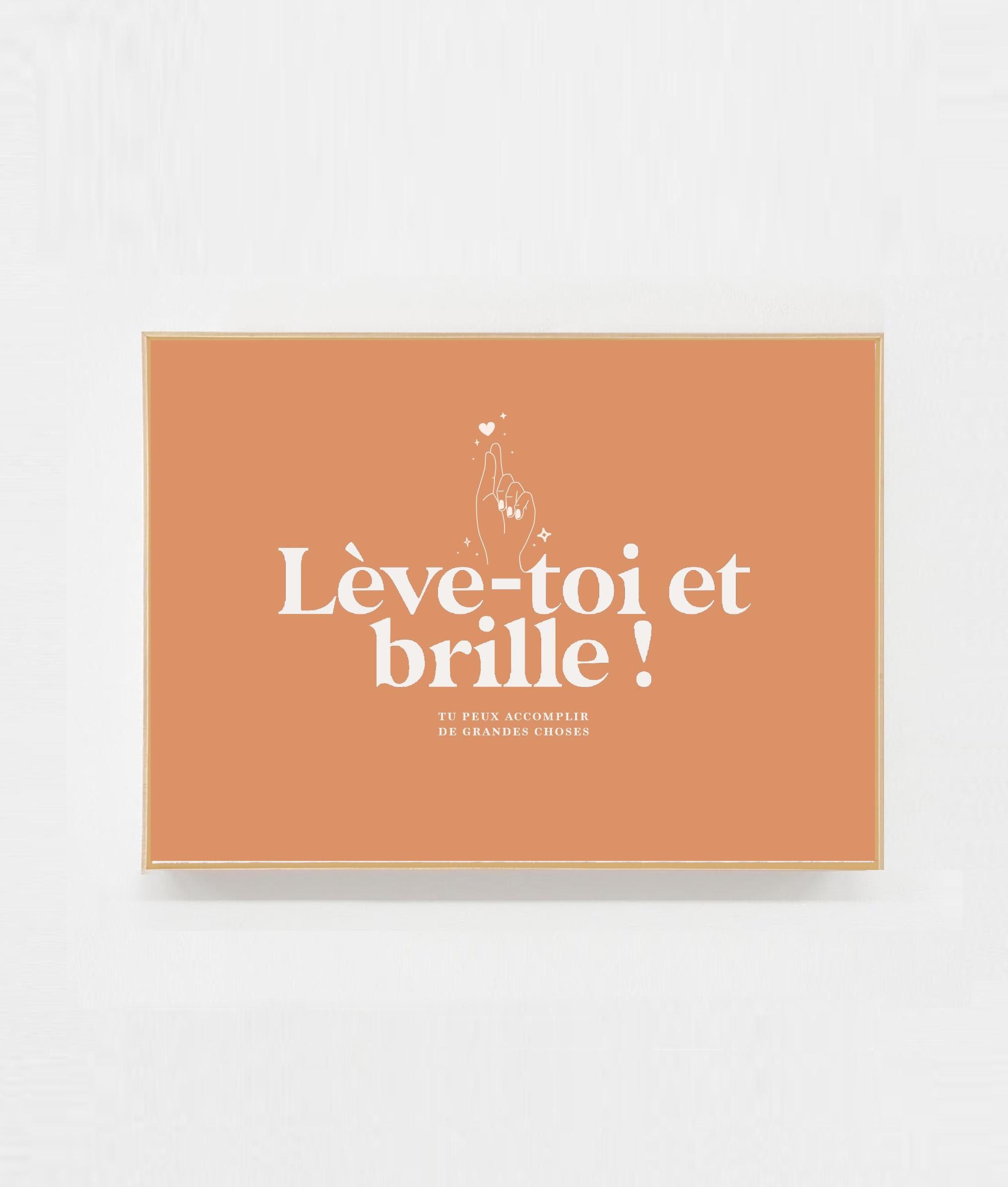 Carte postale ambition motivation