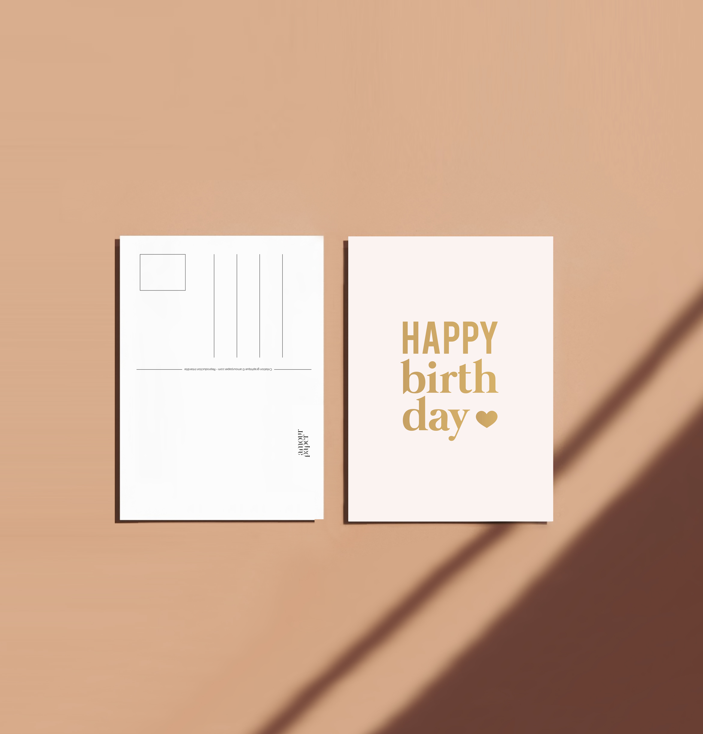 carte anniversaire illustration