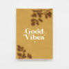 Carte postale positive Good vibes decoration
