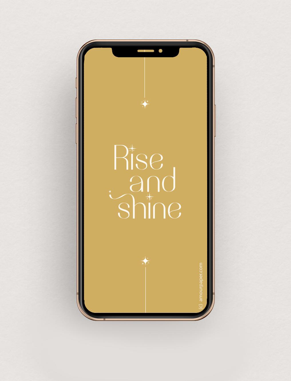 Fond d'écran Rise and shine