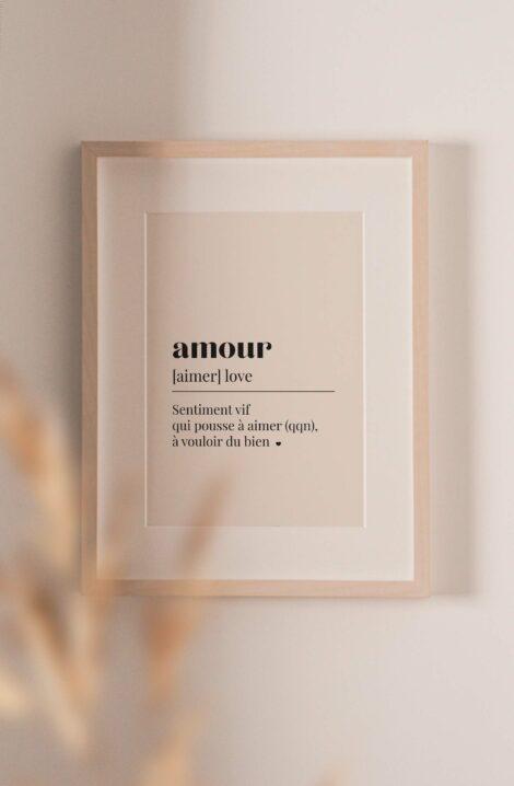 affiche amour a imprimer