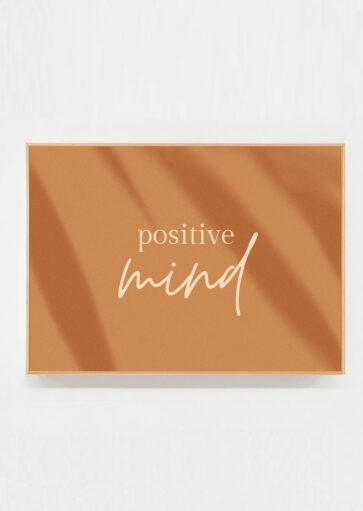 Carte postale Positive mind