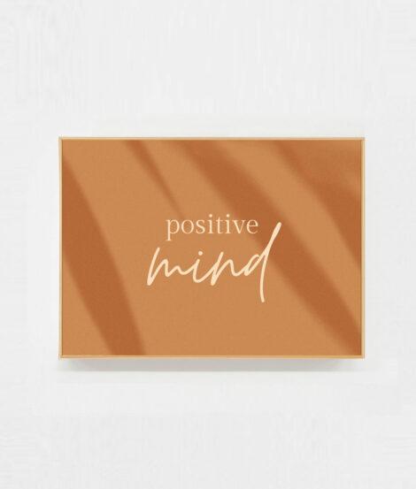 carte decor positive mind