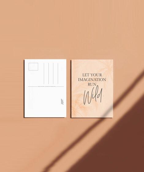 carte postale motivation creative