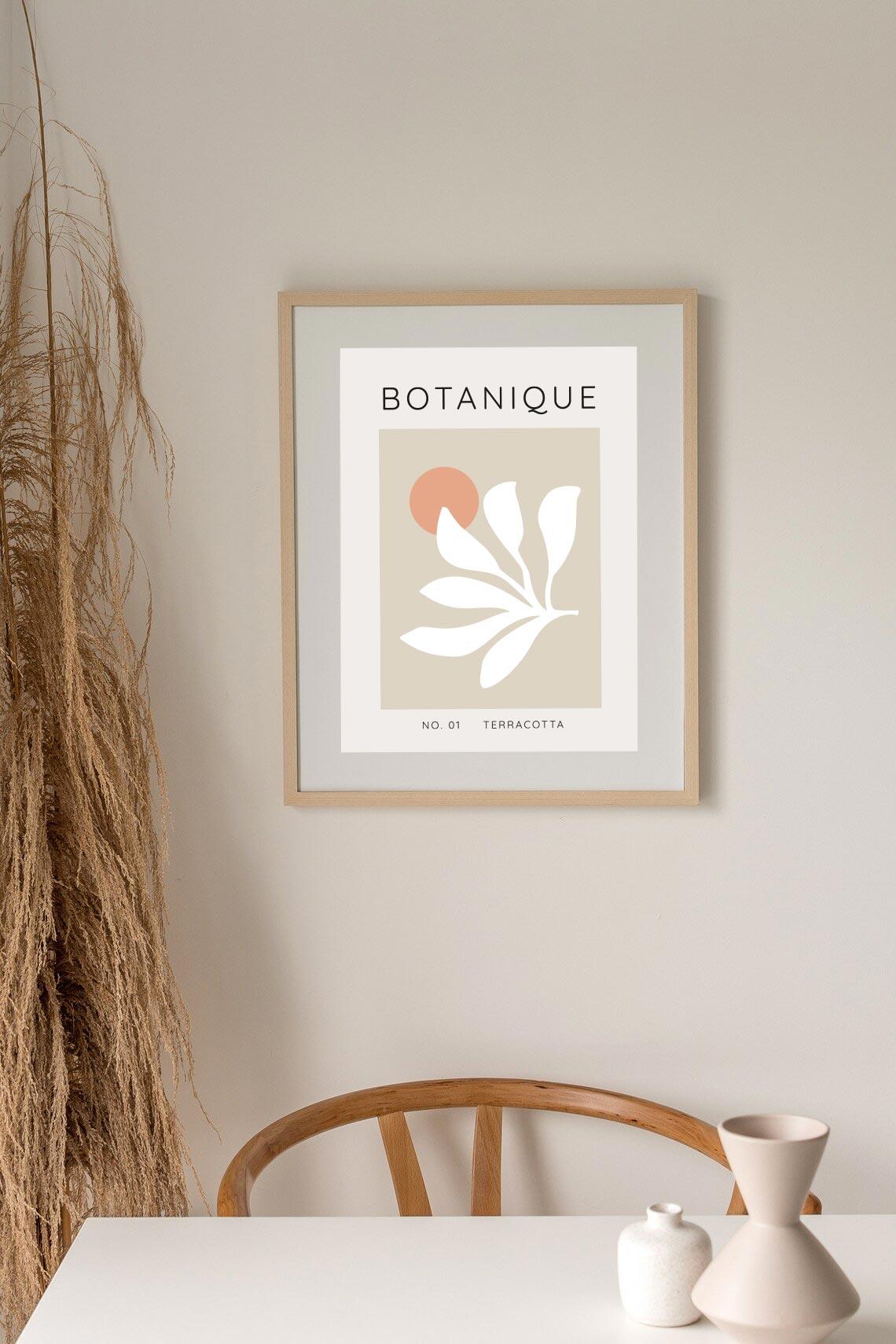 affiche botanique deco home