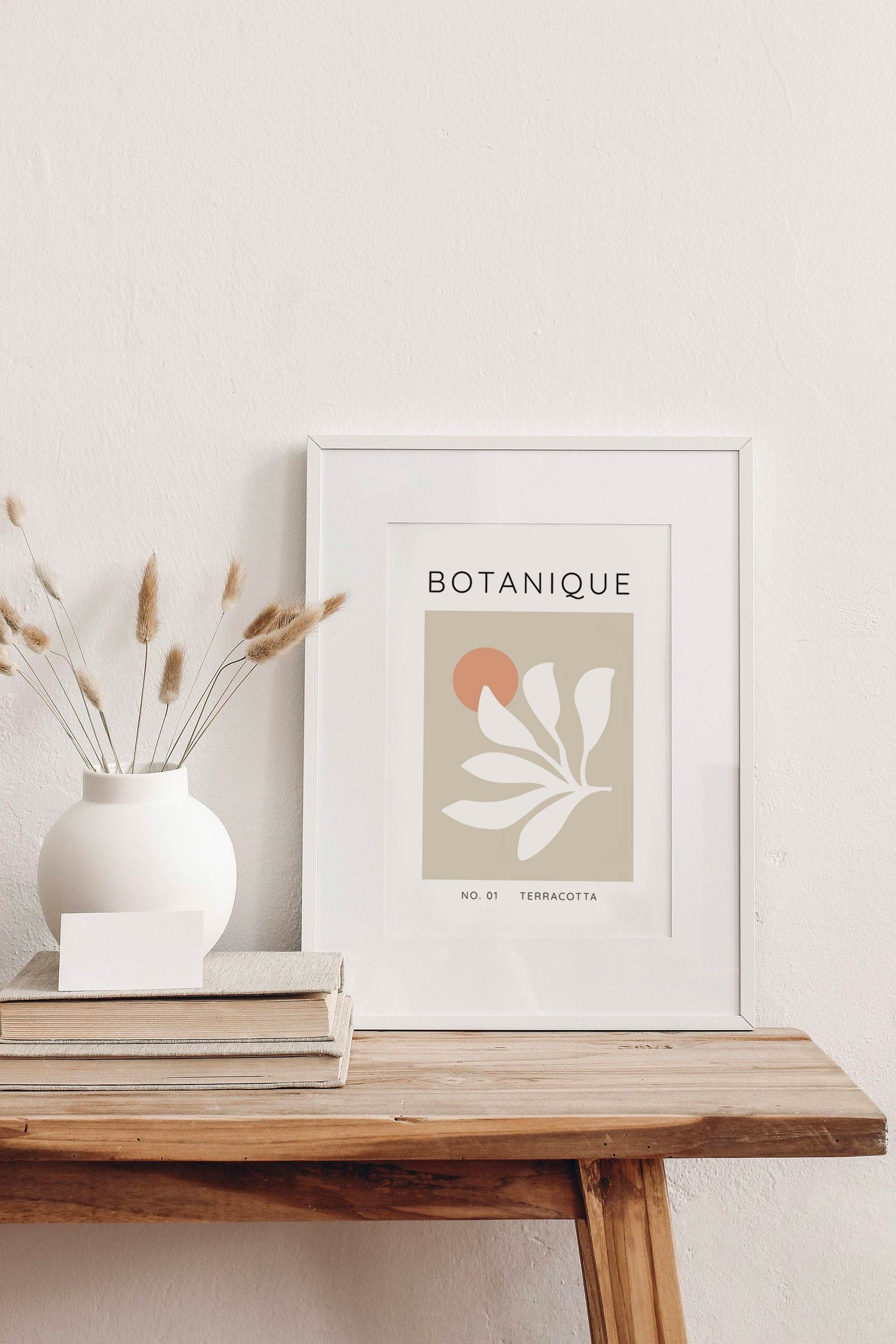 tendance deco affiche botanique