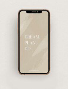 Read more about the article Fond d'écran Dream Plan Do – Septembre 2021